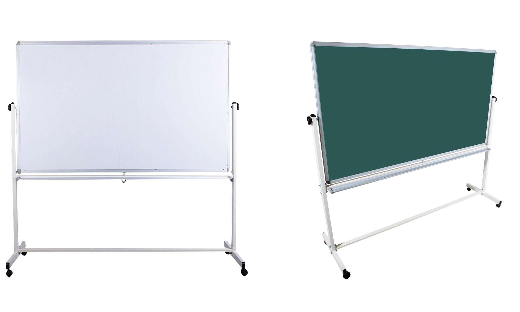 Magnetische Kreidetafel : Mobile Kombitafel Mit Kreidetafel Und Whiteboard  Oberfläche Kaufen